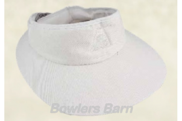 Avanel 6788 Ladies Wrap Visor - White 583bed94cbd